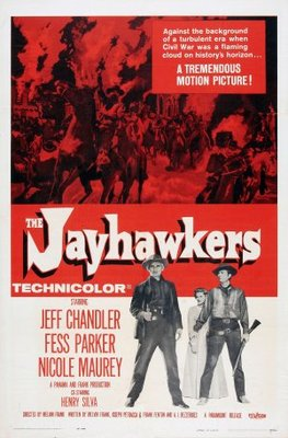 The Jayhawkers! movie poster (1959) poster MOV_e3b0da2d