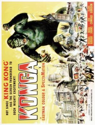 Konga movie poster (1961) poster MOV_e3b3fe7d
