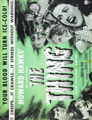 The Thing From Another World movie poster (1951) poster MOV_e3b47a68