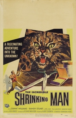 The Incredible Shrinking Man movie poster (1957) poster MOV_e3b899a6