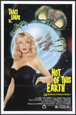 Not of This Earth movie poster (1988) poster MOV_e3cbc35d
