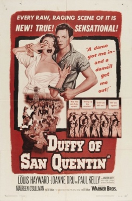 Duffy of San Quentin movie poster (1954) poster MOV_e3d9f0b3