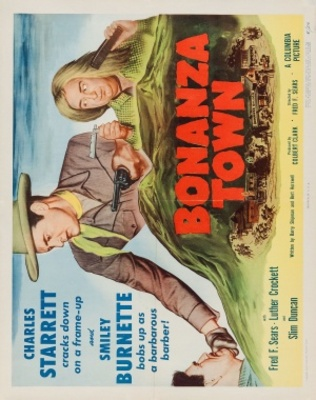 Bonanza Town movie poster (1951) poster MOV_e3ef11f2
