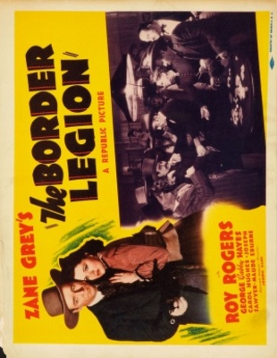 The Border Legion movie poster (1940) poster MOV_e3f046b3