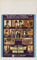When Comedy Was King movie poster (1960) picture MOV_e3f47d85