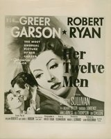 Her Twelve Men movie poster (1954) picture MOV_e3fb72b2