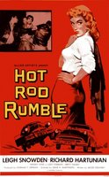 Hot Rod Rumble movie poster (1957) picture MOV_e41068b9