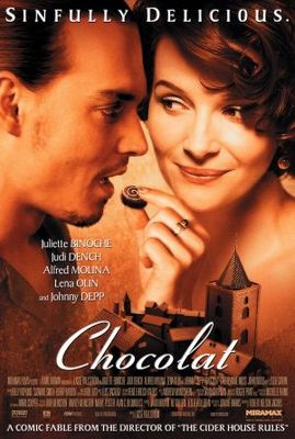 Chocolat movie poster (2000) poster MOV_e43ce7ae