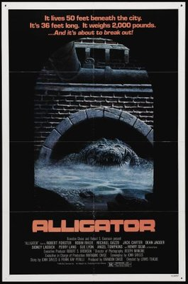 Alligator movie poster (1980) poster MOV_e4476b95