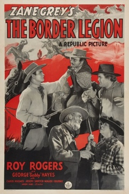 The Border Legion movie poster (1940) poster MOV_e449fa1b