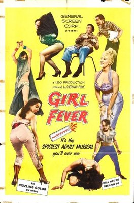 Girl Fever movie poster (1960) poster MOV_e44b34bb