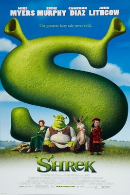 Shrek movie poster (2001) poster MOV_e44eb897