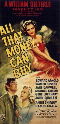 The Devil and Daniel Webster movie poster (1941) poster MOV_e4665d52