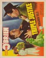 Triple Justice movie poster (1940) picture MOV_e4767d5e