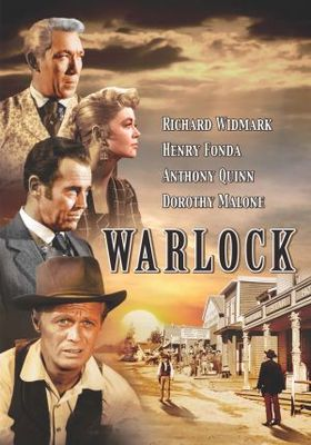 Warlock movie poster (1959) poster MOV_e477a2fb