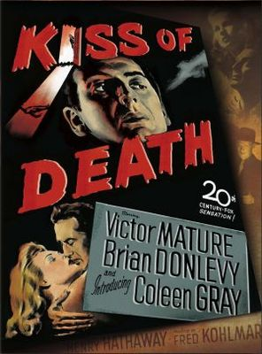 Kiss of Death movie poster (1947) poster MOV_e478a8a0