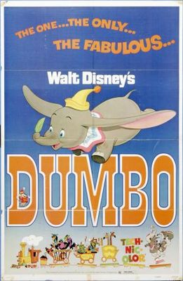 Dumbo movie poster (1941) poster MOV_e4ec9ac3