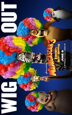 Madagascar 3: Europe's Most Wanted movie poster (2012) poster MOV_e4ee95ab