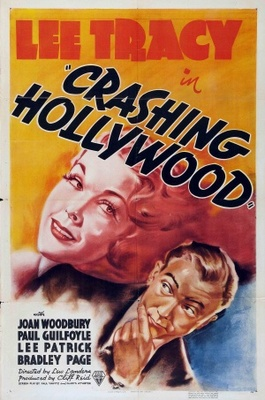 Crashing Hollywood movie poster (1938) poster MOV_e4f943b7