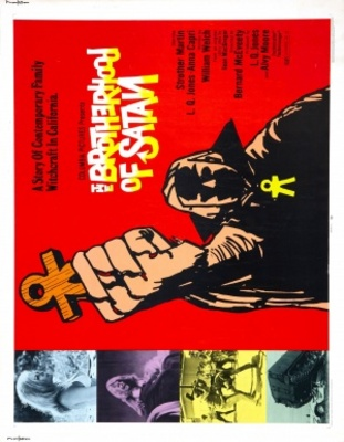 The Brotherhood of Satan movie poster (1971) poster MOV_e5201f47