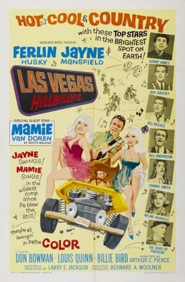 The Las Vegas Hillbillys movie poster (1966) poster MOV_e54e9939