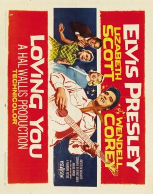 Loving You movie poster (1957) poster MOV_e564afdd