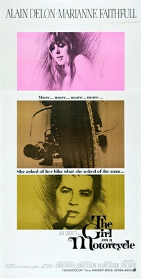 The Girl on a Motocycle movie poster (1968) poster MOV_e565de44