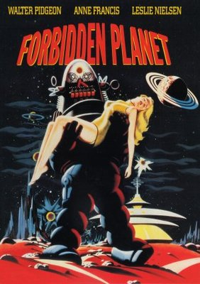 Forbidden Planet movie poster (1956) poster MOV_e56a091c
