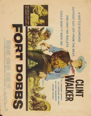 Fort Dobbs movie poster (1958) poster MOV_e58a42cb