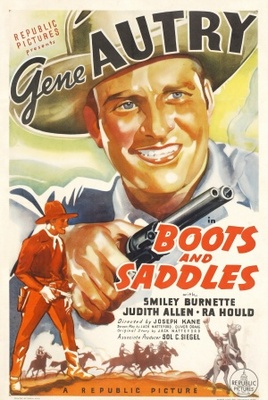 Boots and Saddles movie poster (1937) poster MOV_e5a0b432