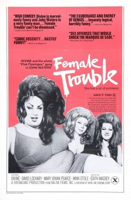 Female Trouble movie poster (1974) poster MOV_e5cee249