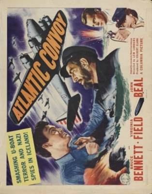 Atlantic Convoy movie poster (1942) poster MOV_e5e598d5