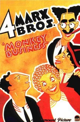 Monkey Business movie poster (1931) poster MOV_e6019147