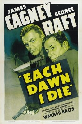 Each Dawn I Die movie poster (1939) poster MOV_e616317c
