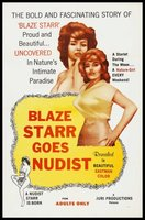 Blaze Starr Goes Back to Nature movie poster (1962) picture MOV_e62530ea