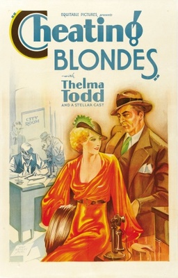 Cheating Blondes movie poster (1933) poster MOV_e629bbc9