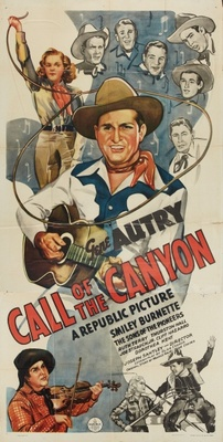 Call of the Canyon movie poster (1942) poster MOV_e640f61a
