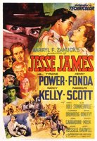 Jesse James movie poster (1939) picture MOV_e6448bb7