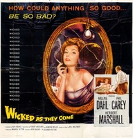 Wicked as They Come movie poster (1956) picture MOV_e65ef8f1