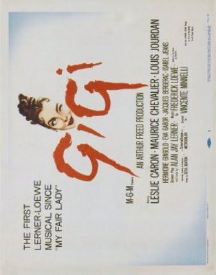 Gigi movie poster (1958) poster MOV_e681ec04