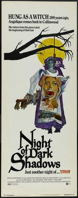 Night of Dark Shadows movie poster (1971) poster MOV_e686254d