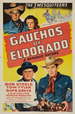 Gauchos of El Dorado movie poster (1941) poster MOV_e69410a0