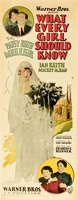What Every Girl Should Know movie poster (1927) picture MOV_e6af45a3