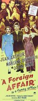 A Foreign Affair movie poster (1948) picture MOV_e6d3e77a