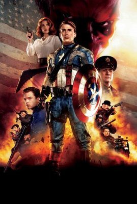 Captain America: The First Avenger movie poster (2011) poster MOV_e6de5765