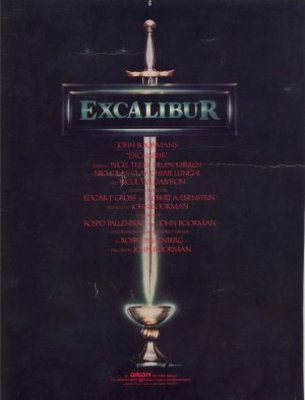 Excalibur movie poster (1981) poster MOV_e6df9788