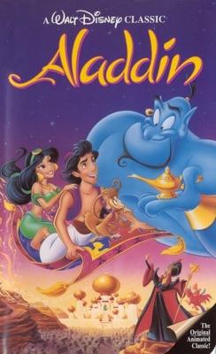 Aladdin Movie Poster Aladdin movie poster  1992
