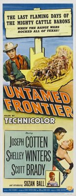 Untamed Frontier movie poster (1952) poster MOV_e70939af