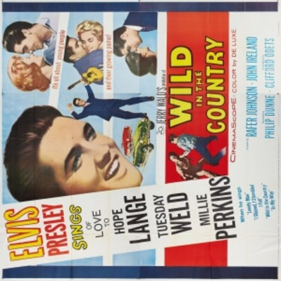 Wild in the Country movie poster (1961) poster MOV_e714fc62