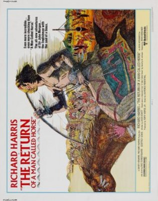 The Return of a Man Called Horse movie poster (1976) poster MOV_e71a2a04